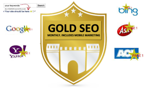 gold seo monthly